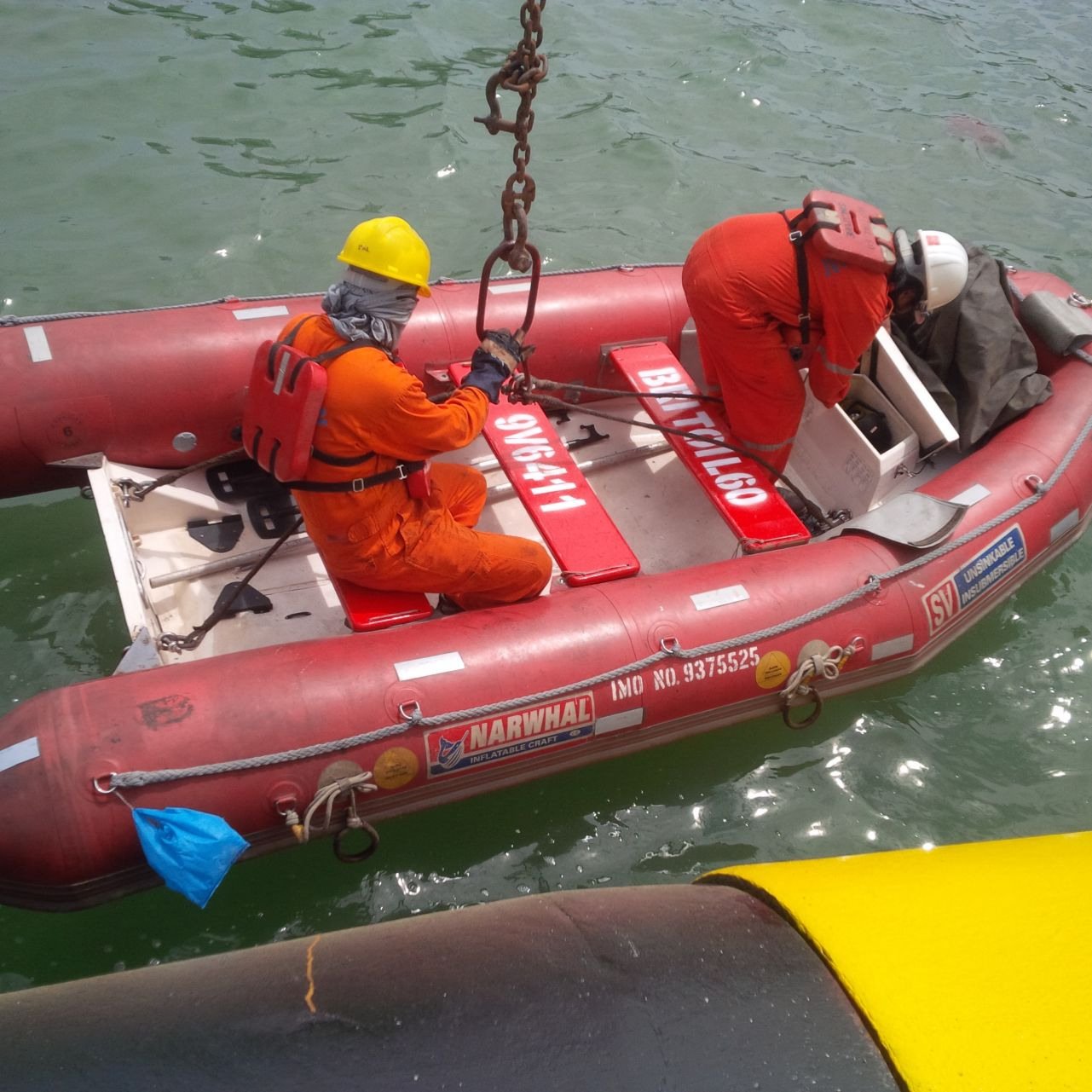 RIGID & INFLATABLE RESCUE BOAT